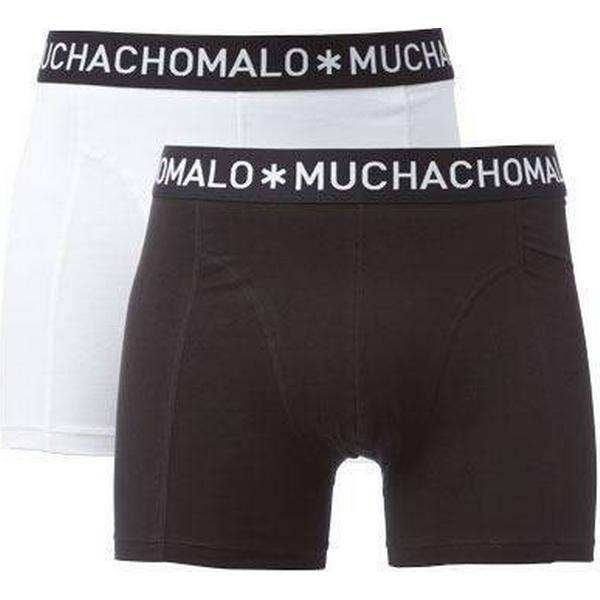 Muchachomalo Basic Boxer Shorts 2-pack Black/White