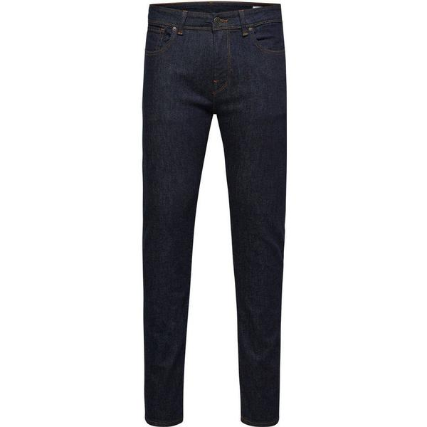 Selected 1002 Slim Fit Jeans Blue/Dark Blue Denim