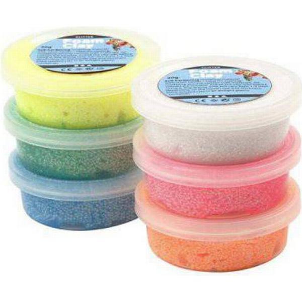 Foam Clay Glitter Clay 6x14g