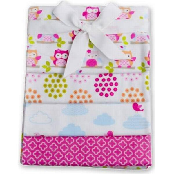 CarloBaby Cotton Blanket 4-pack