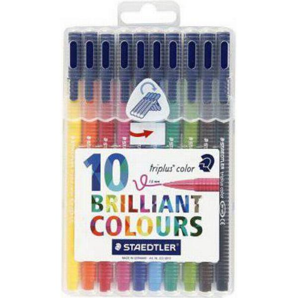 Staedtler Triplus Color Pen 323 1.0mm 10 Pack