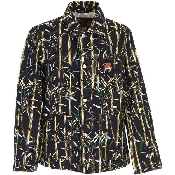 Kenzo Jacket for Men On Sale, Memento Collection 2, Black, Denim, 2019, L M