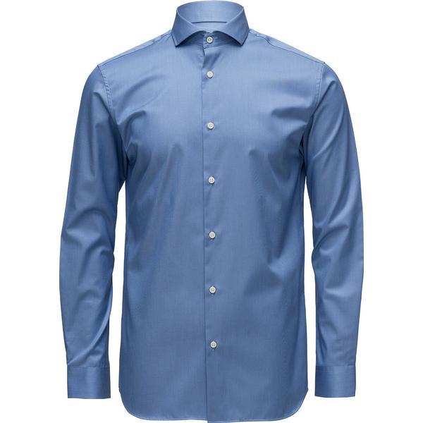 Selected Slim Fit Shirt Blue/Skyway