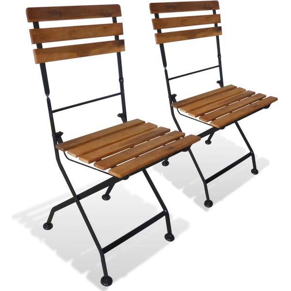 vidaXL 43734 2-pack Armless Chair