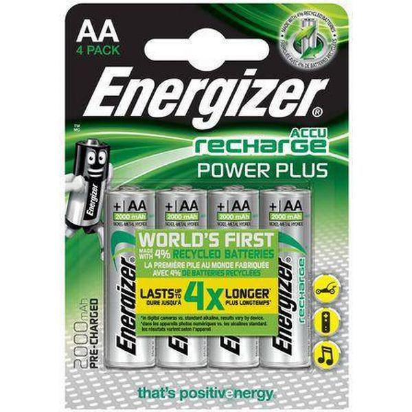 Energizer AA Accu Power Plus 2000mAh Compatible 4-pack