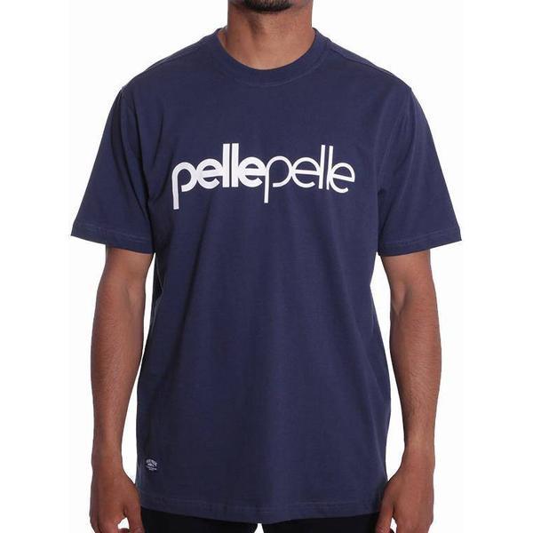 Pelle Pelle Back 2 the Basics T-shirt - Navy