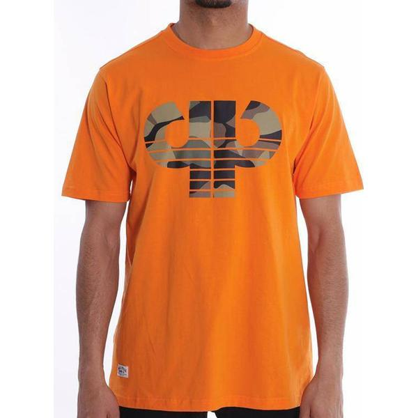 Pelle Pelle Camo Icon T-shirt - Mandarin