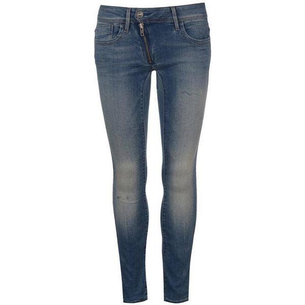 G-Star Lynn Zip Mid Waist Skinny Jeans - Medium Aged
