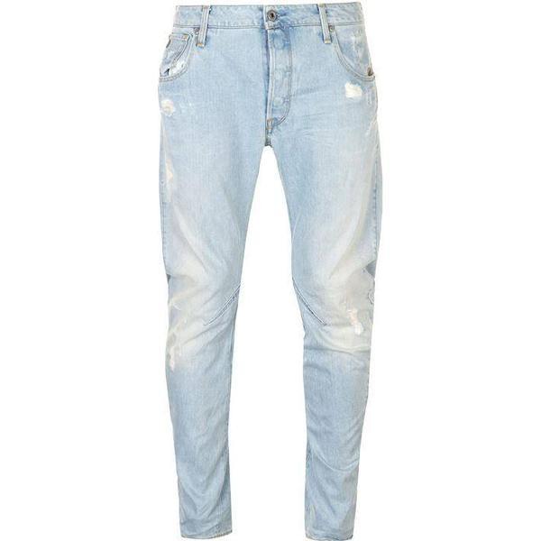 G-Star Arc 3D Slim Jeans - Light Aged Destroy