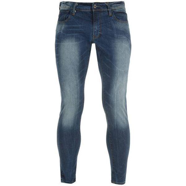 G-Star 3301 Super Slim Jeans - Medium Aged