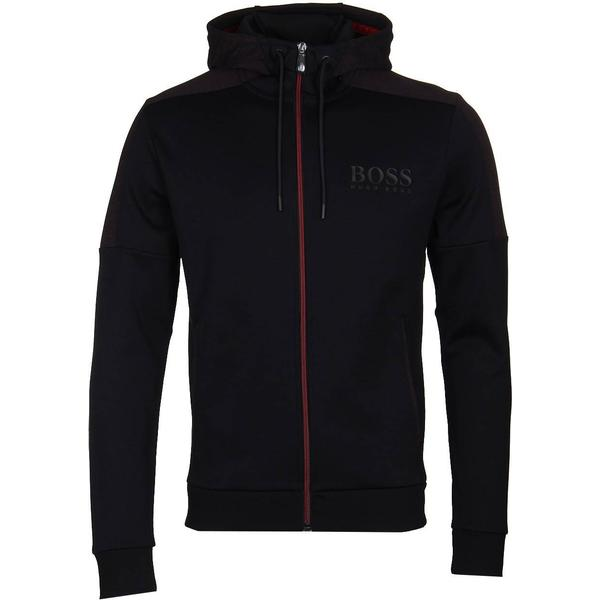 Hugo Boss Athleisure Saggy Hoodie Black
