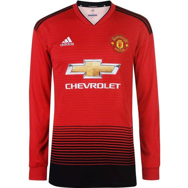Adidas Manchester United Home LS Jersey 18/19 Sr
