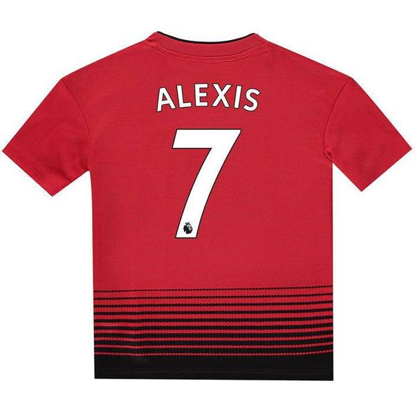 Adidas Manchester United Home Jersey 18/19 Alexis 7. Youth