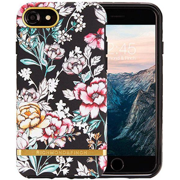 Richmond & Finch Black Floral Freedom Case (iPhone 8/7/6/6S)