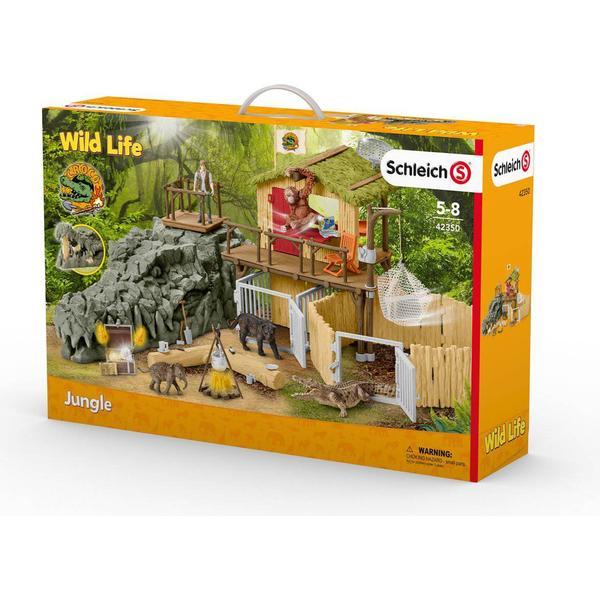 Schleich Schleich Wild Life Jungle Forskningsstation Croco 42350