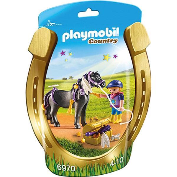 Playmobil Bondegård Groomer with Star Pony 6970