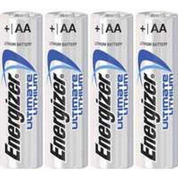 Energizer AA Ultimate Lithium Compatible 4-pack