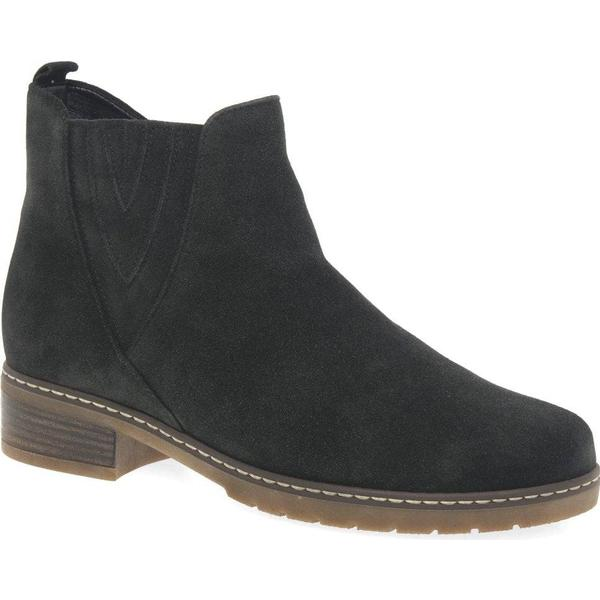 Gabor Dorothy Womens Chelsea Boots Colour: 5 Dark Grey Suede, Size: 5 Colour: a8ff23