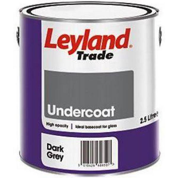 Leyland Trade Undercoat Wood Paint, Metal Paint Grey 2.5L