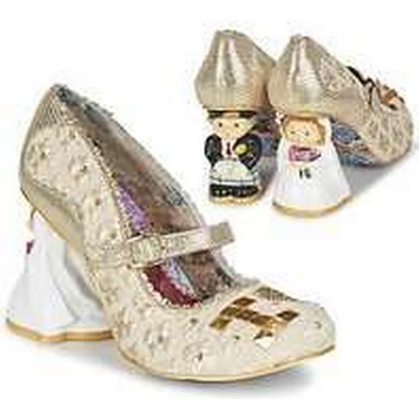 Spartoo.co.uk Irregular Choice I LOVE YOU YOU LOVE women's Court Shoes in Gold 3e8603