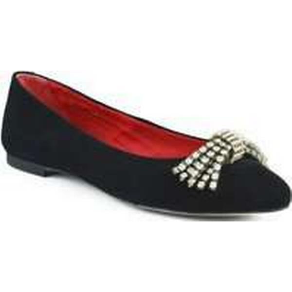 spartoo.co.uk giana di di di firenze gianna di firenze ante femmes & #  27; s Chaussure s (pompes / ballerines) en noir 951b95