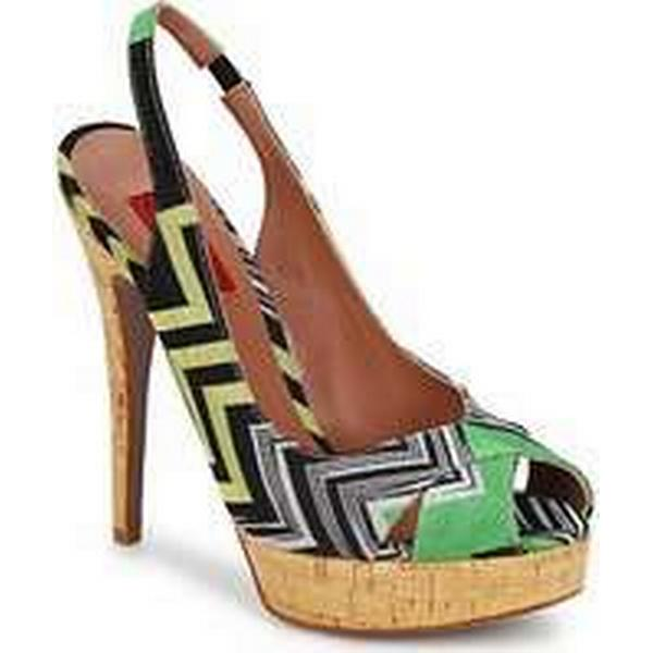 Spartoo.co.uk Missoni RM71 Sandals women's Sandals RM71 in Green ee0194