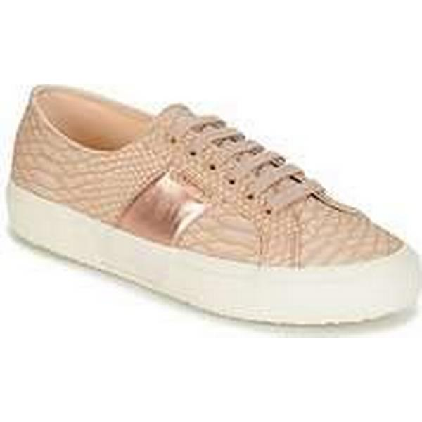 Spartoo.co.uk 2750 Superga 2750 Spartoo.co.uk PU SNAKE W women's Shoes (Trainers) in Beige bb6a7c