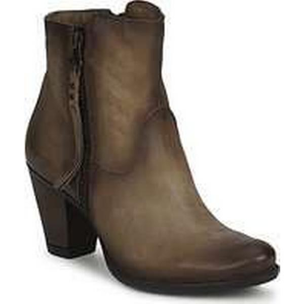 Spartoo.co.uk Dream in Green Green in QUIZILO women's Low Ankle Boots in Brown d5d591