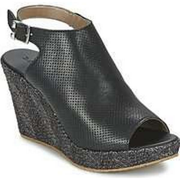 Spartoo.co.uk Meline PUNZI women's women's PUNZI Sandals in Black 325b65