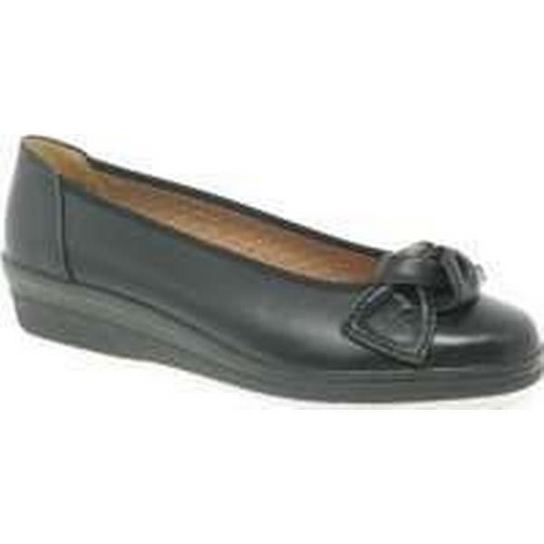 Spartoo.co.uk Gabor Lesley Womens Casual Ballet Wedge Heel Heel Wedge Shoes women's Shoes (Pumps / Ballerinas) in Black 175094