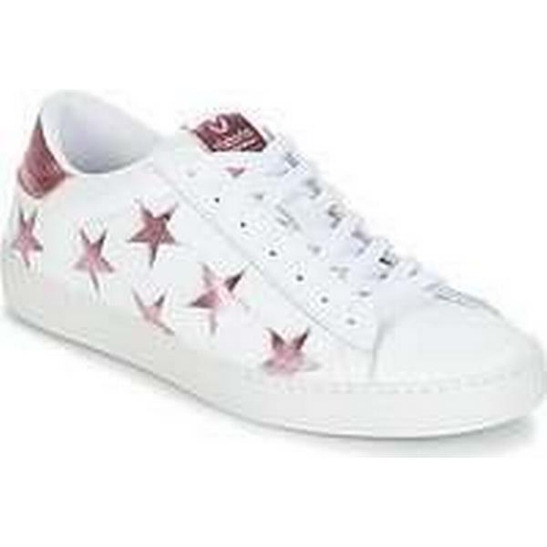 Spartoo.co.uk Victoria women's DEPORTIVO LASER ESTRELLAS women's Victoria Shoes (Trainers) in White 77cdc0