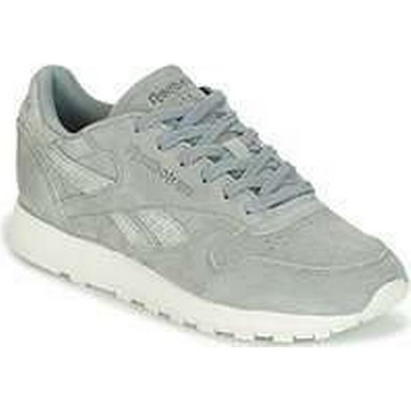Spartoo.co.uk Reebok Classic CLASSIC LEATHER SHIMMER Grey women's Shoes (Trainers) in Grey SHIMMER 0037b7