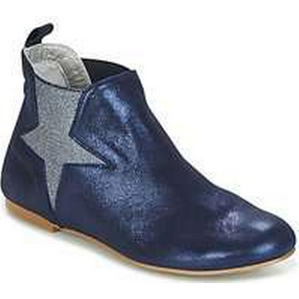 Spartoo.co.uk women's Ippon Vintage EASY-CHIC-MARINE women's Spartoo.co.uk Mid Boots in Blue 8fbd4b