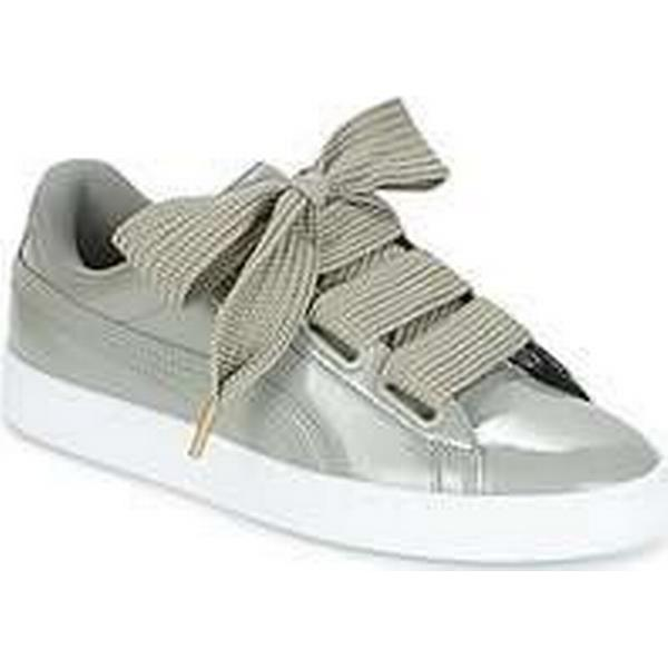 Spartoo.co.uk Puma BASKET BASKET Puma HEART PATENT W'S women's Shoes (Trainers) in Grey 1913be