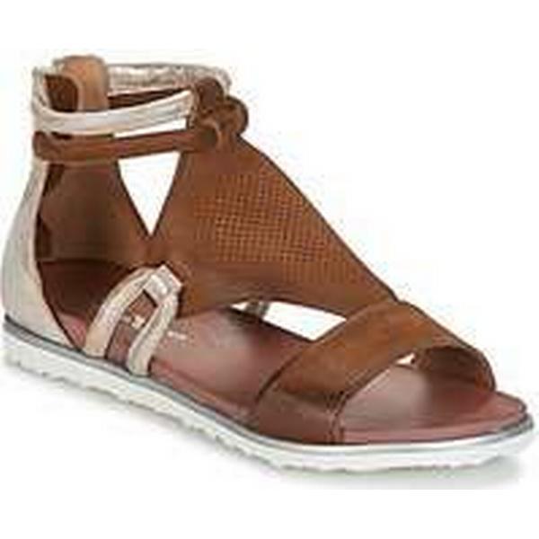 Spartoo.co.uk Dream in Sandals Green IROUNOU women's Sandals in in Brown fdfecd