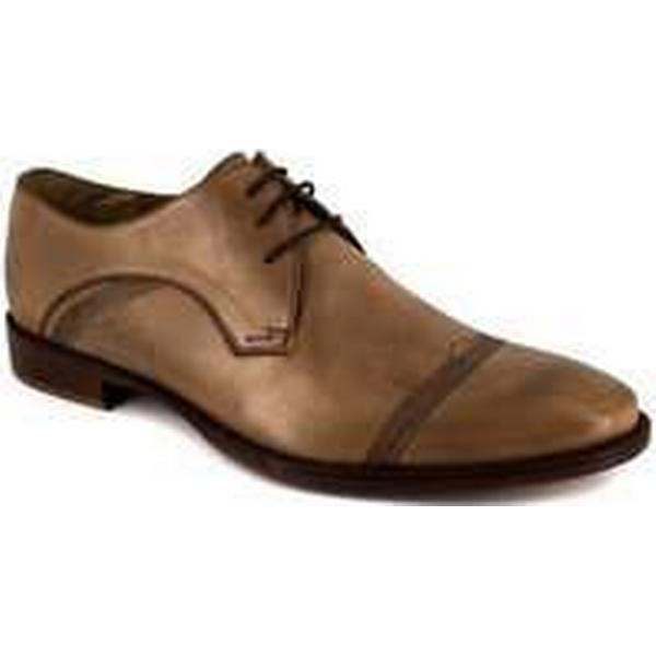 Spartoo.co.uk Peter Blade Derby Camel Leather in LONI men's Casual Shoes in Leather Brown a274ea