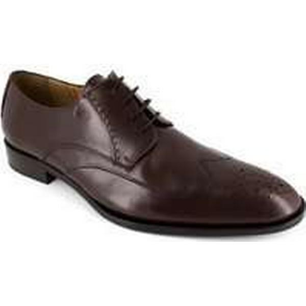 Spartoo.co.uk Peter Blade Shoes Derby Brown Leather DURK men's Casual Shoes Blade in Brown c0e86e