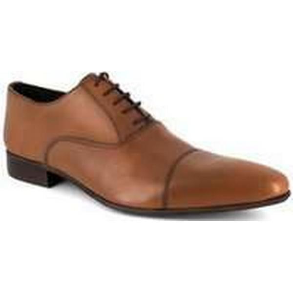 Spartoo.co.uk J.bradford Man Camel Leather Shoes Richelieu JB-AUSTIN Shoes men's Smart / Formal Shoes JB-AUSTIN in Brown f92601