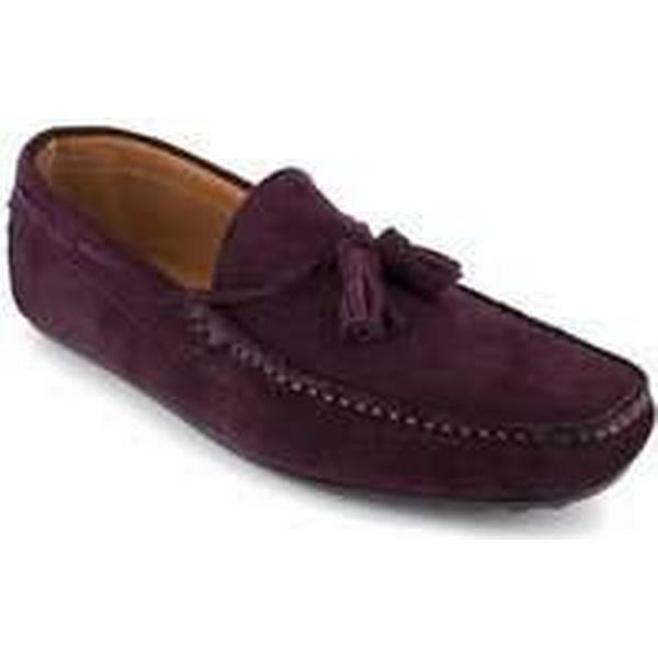 Spartoo.co.uk J.bradford Loafer Burgundy / Leather JB-NASTY men's Loafers / Burgundy Casual Shoes in Red efe6d9