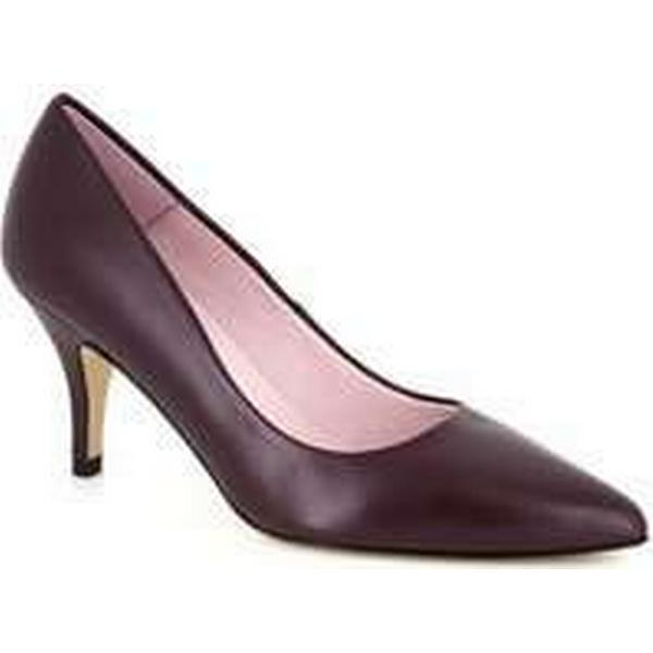 Spartoo.co.uk J.bradford Stiletto Burgundy Leather JB-NATALIA Red women's Court Shoes in Red JB-NATALIA cefd30