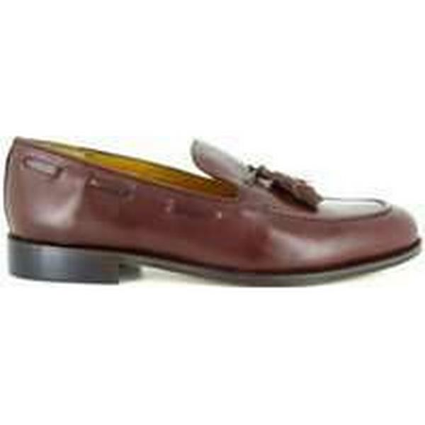 Spartoo.co.uk TWENTY-FIVE Stradford Loafer Brown Leather TWENTY-FIVE Spartoo.co.uk men's Loafers / Casual Shoes in Brown 411947