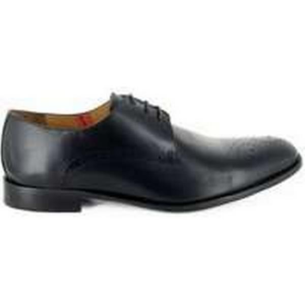Spartoo.co.uk Peter Blade Derby Black Shoes Leather BRAC men's Casual Shoes Black in Black 0ec6a1