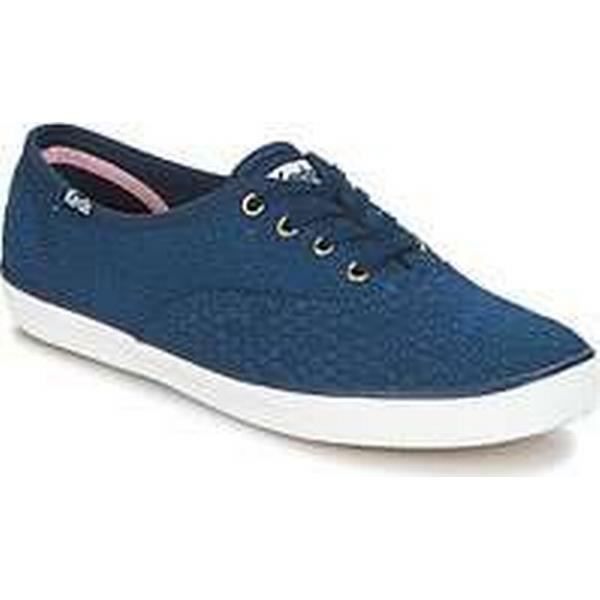 Spartoo.co.uk Keds CHAMPION (Trainers) DOT EYELET women's Shoes (Trainers) CHAMPION in Blue ae3183