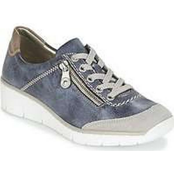 Spartoo.co.uk women's Rieker FEMOIVIE women's Spartoo.co.uk Shoes (Trainers) in Blue f9ba6b
