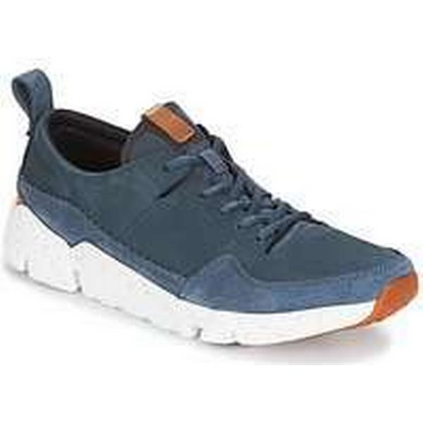 Spartoo.co.uk Clarks TRIACTIVE RUN men's Blue Shoes (Trainers) in Blue men's fc05ee