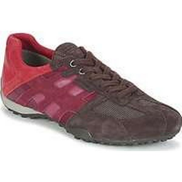 Spartoo.co.uk Geox U SNAKE E Brown men's Shoes (Trainers) in Brown E b95465