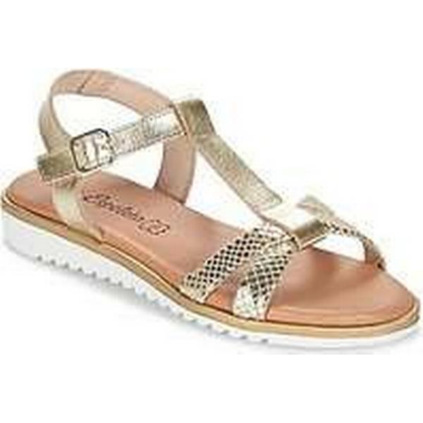 Spartoo.co.uk Sandals Lola Espeleta MARILYN women's Sandals Spartoo.co.uk in Gold a2f51b