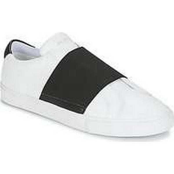 Spartoo.co.uk Jim Rickey CHOP ELASTIC White men's Shoes (Trainers) in White ELASTIC cb509d