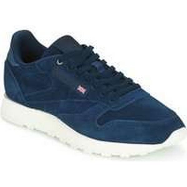 Spartoo.co.uk Reebok men's Classic CL LEATHER MCC men's Reebok Shoes (Trainers) in Blue 7e87b6