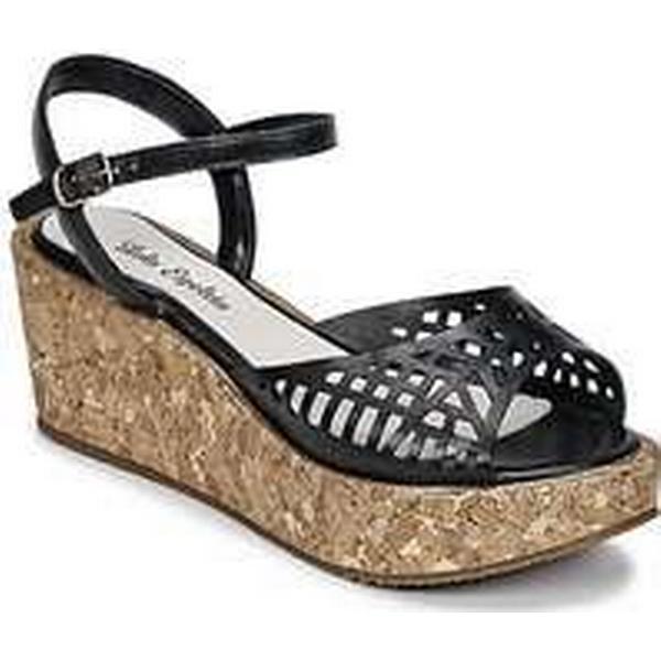 Spartoo.co.uk Lola Espeleta MADONA women's Black Sandals in Black women's a927de